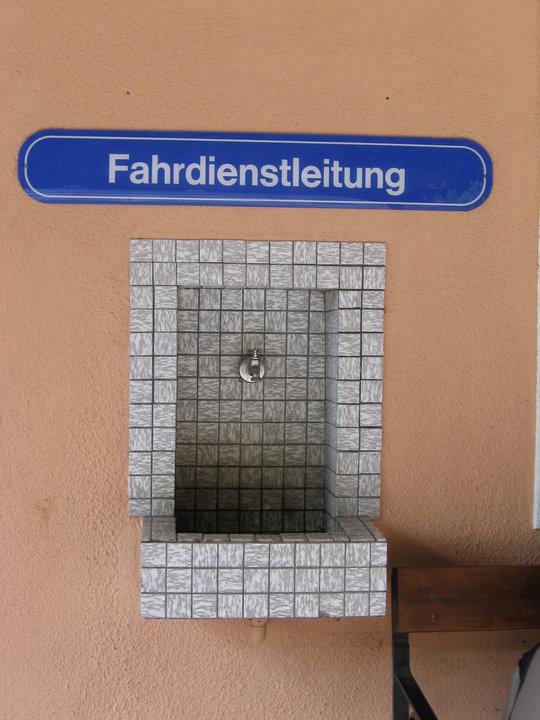 Fahrdiensthahn statt Wasserhahn?