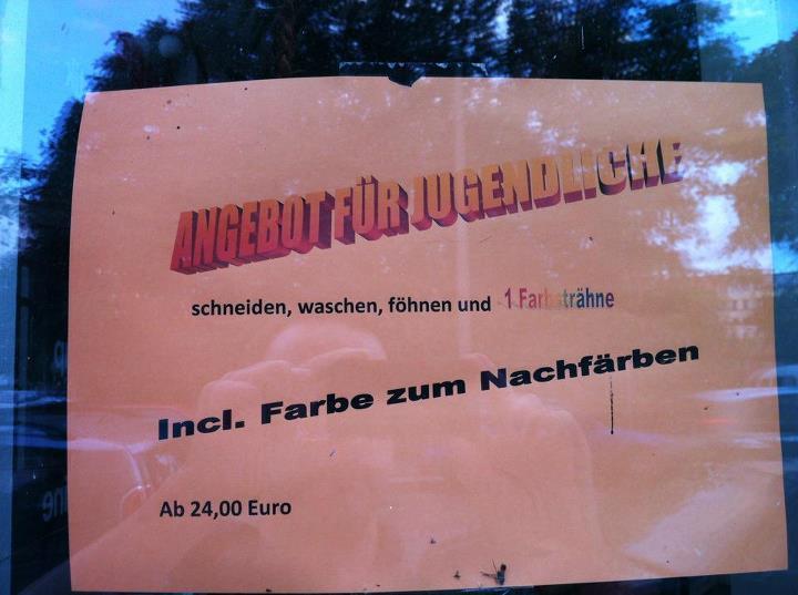 Friseurzusatz (2) - Nikolaus H