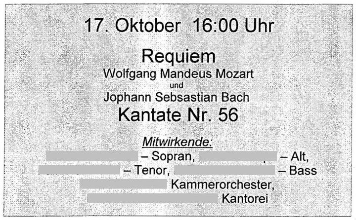 Musikalisches (11) - Tobias H