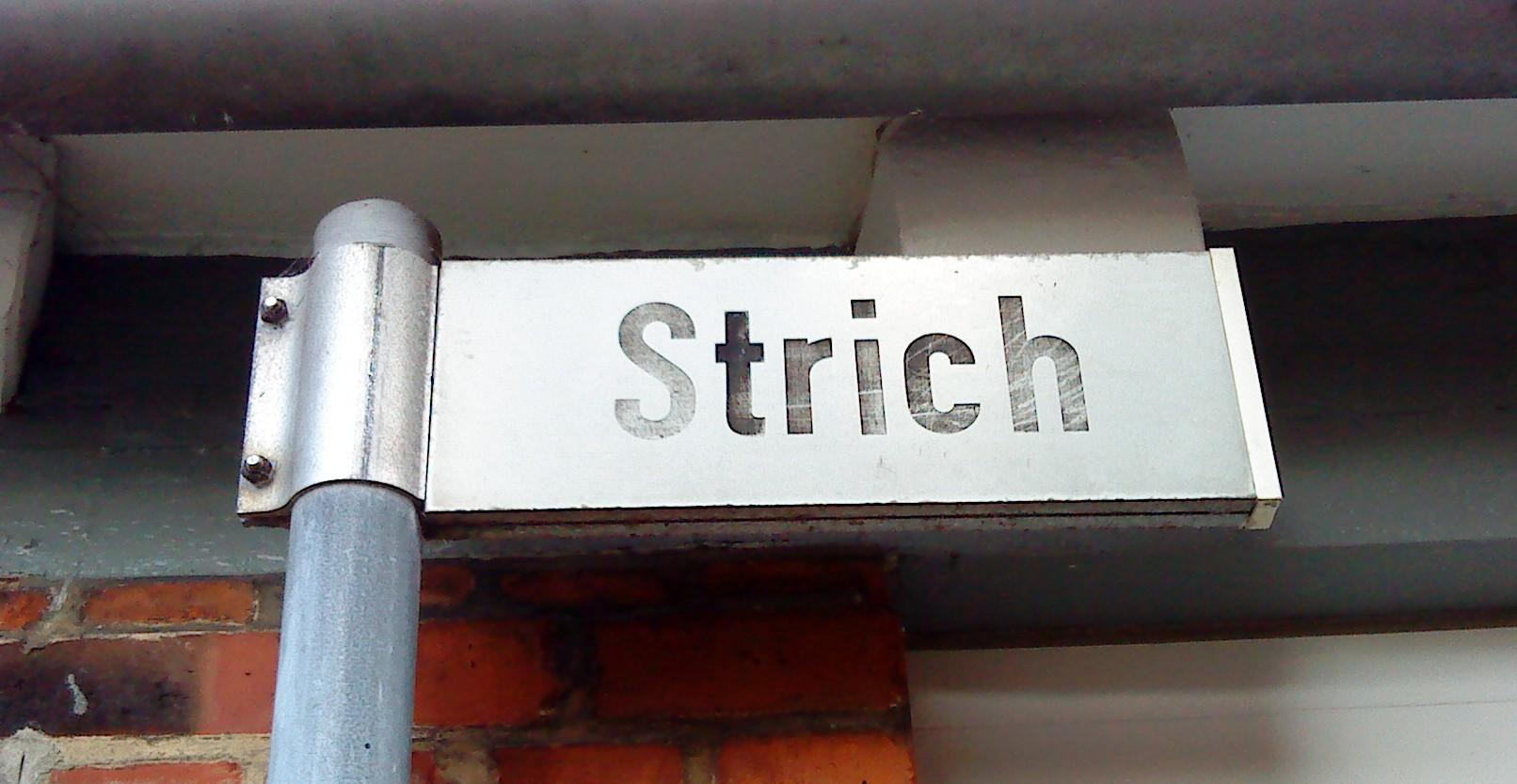 Strich-Straße