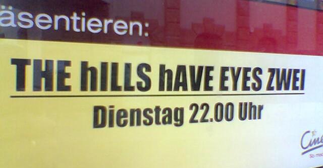 Hügel mit zwei Augen
