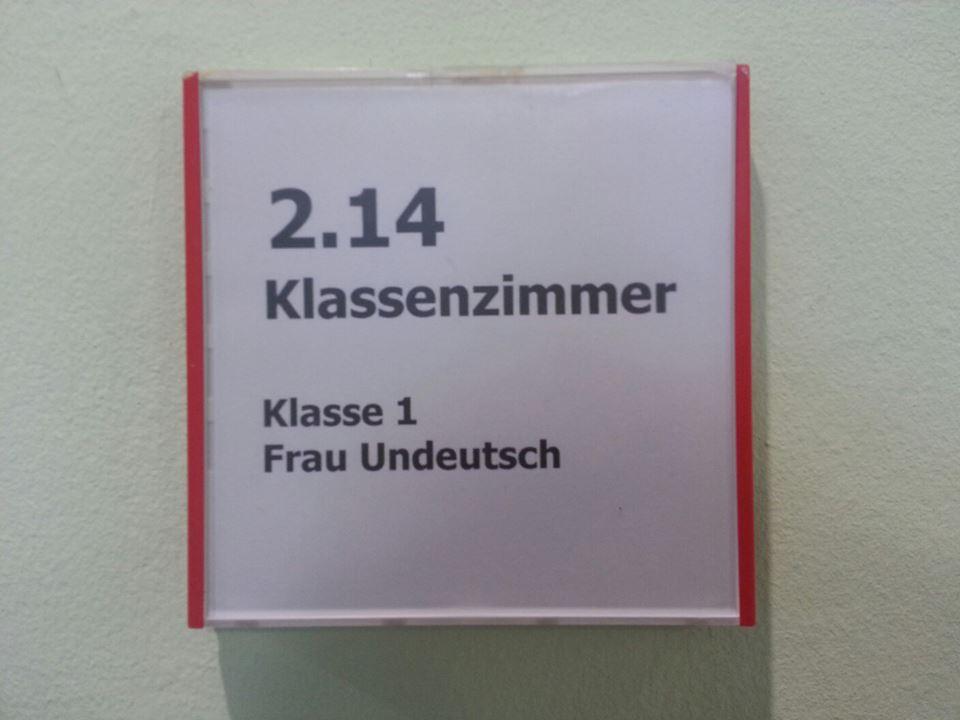 Deutsch als Fremdsprache in Klasse 1