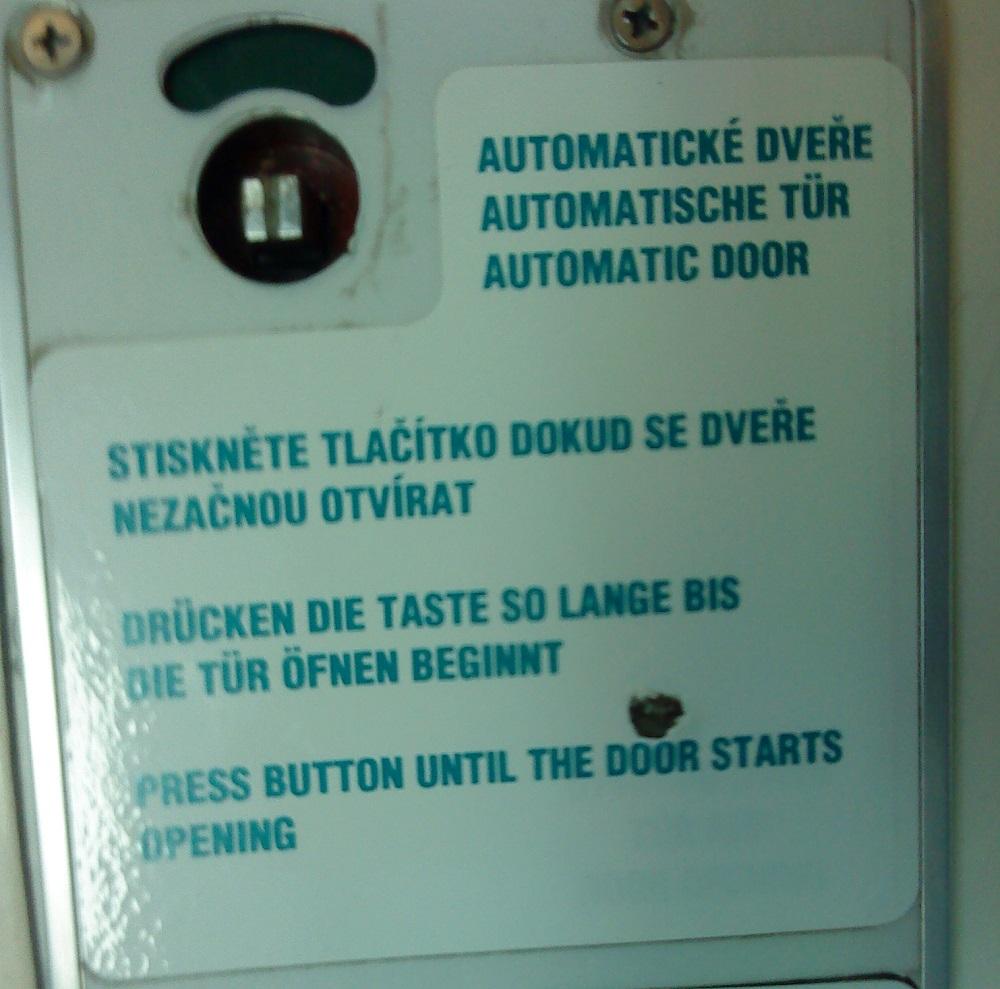 Türautomatik mit defekter Übersetzung