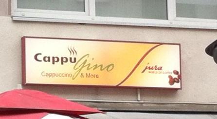 Gino, ein Cappu, bitte!