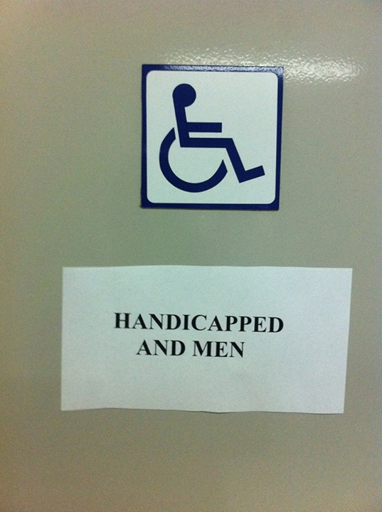 Toiletten-Piktogramm-Botschaften (II)