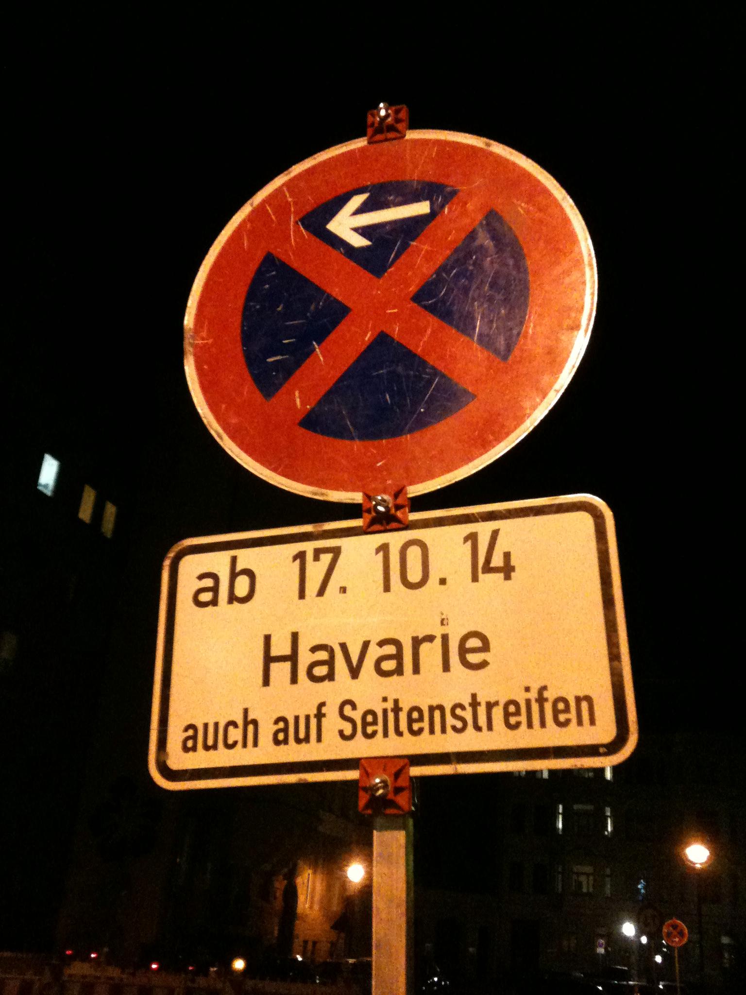 Neu: Havarievorhersage für Leipzig