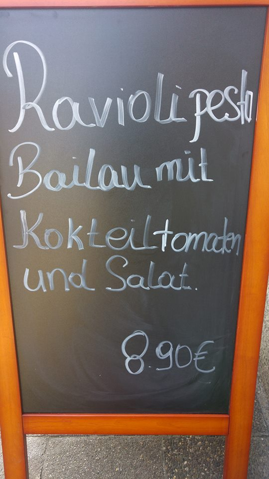 Hmmm, lecker Bailau!